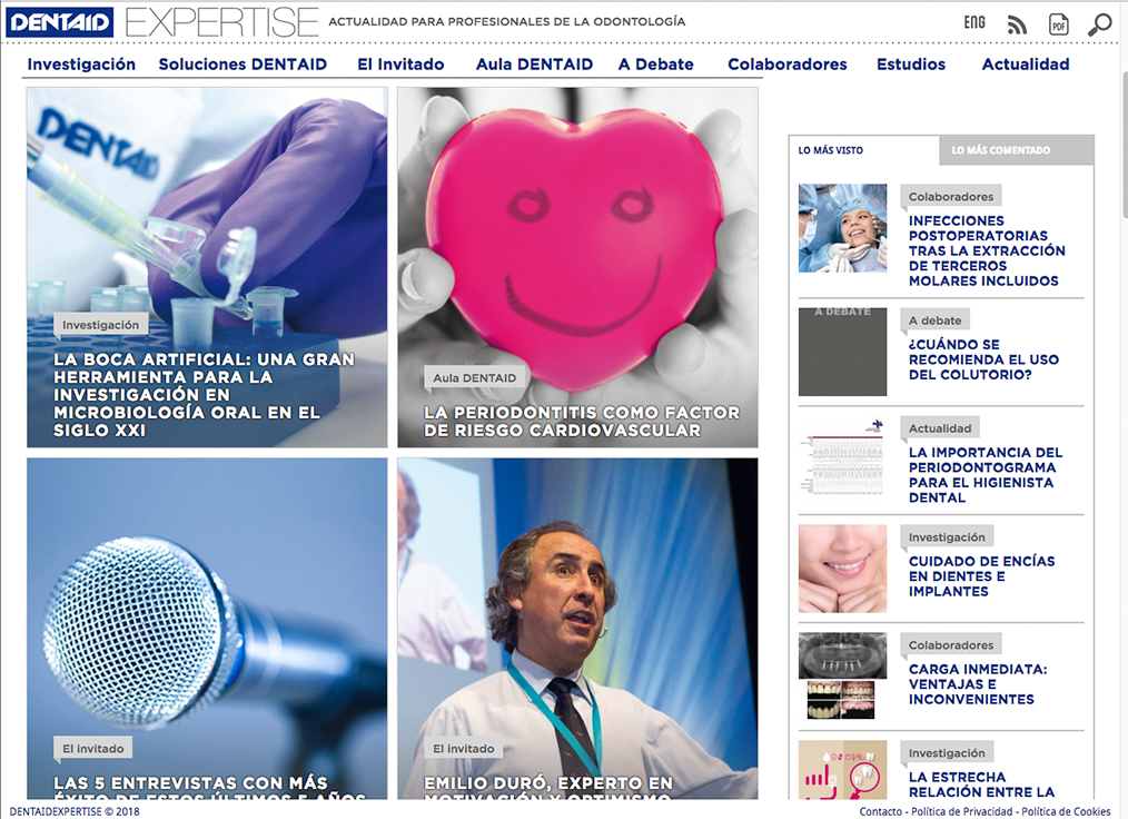revistas online DENTAID